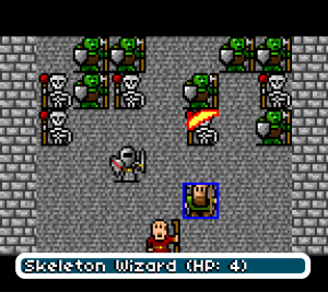 Gurk 8 Bit Rpg Screenshot Battle Orcs Skeletons