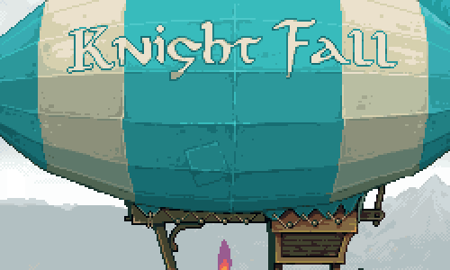 Knight Fall Title Screen Logo
